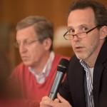 Markus van de Loo, Vorsitzender des MSGF, berichtet von den DMSG-Selbsthilfegruppen