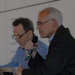 Markus van de Loo, MS-Gruppen-Forum, und Prof. Dr. Christoph Heesen, Ärztlicher Beirat
