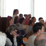 Zwischen und nach den Vorträgen ist viel Zeit für die Fragen des Publikums